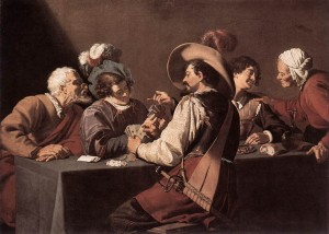 Card Games In Art - Who painted the card players